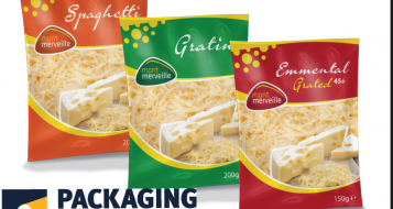 Productpresentatie van Packaging Partners